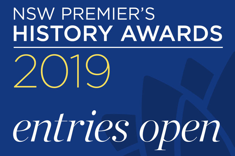 NSW Premier's History Awards Entries open
