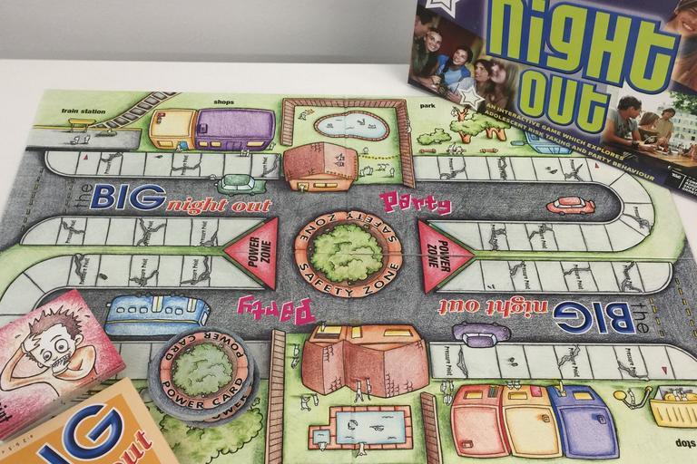 big night out board game