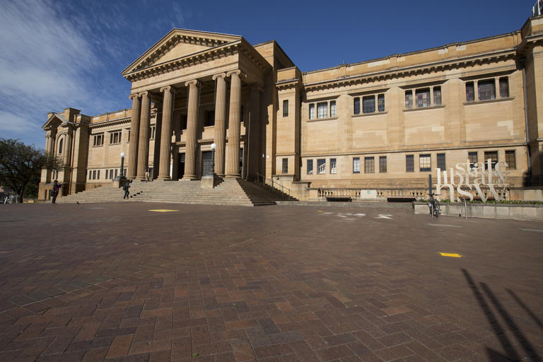 Mitchell Library façade day