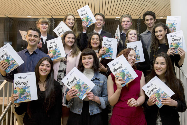 WordeXpress award winning English extension students of 2015