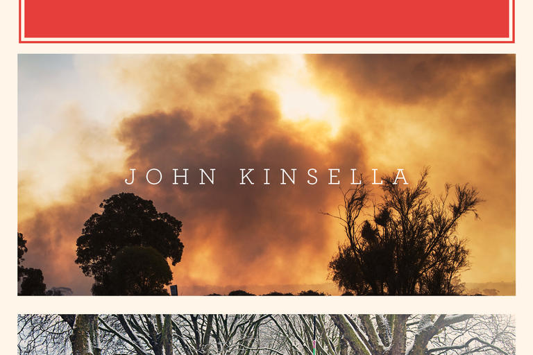 Book cover for Firebreaks: Poems by John Kinsella