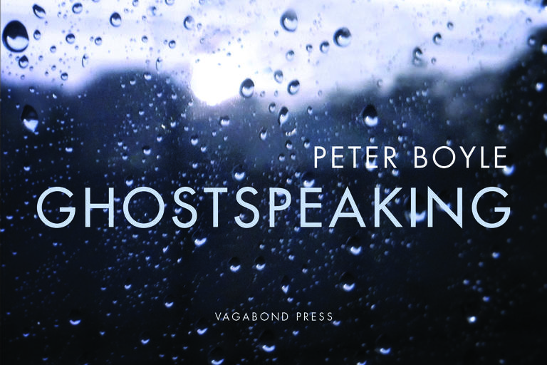 Book cover for Ghostspeaking by Peter Boyle