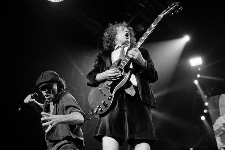 ACDC perform live