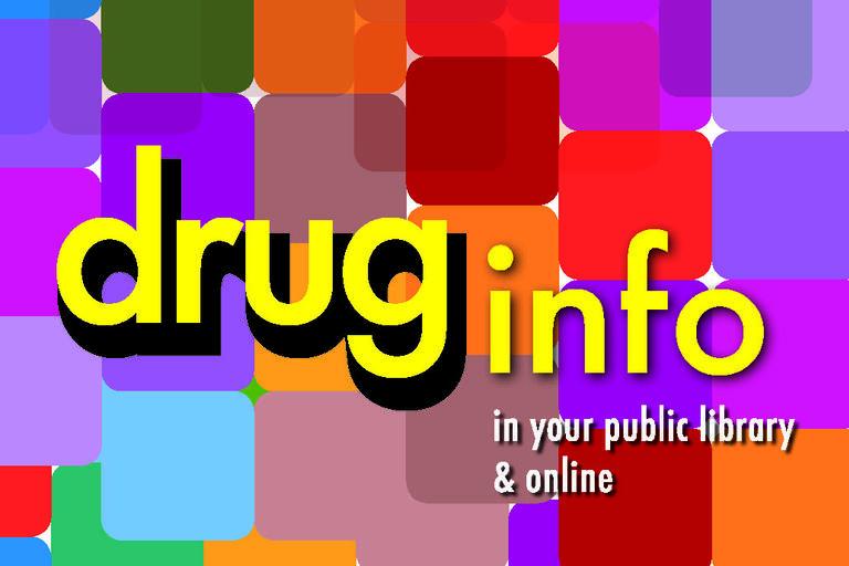 Drug Info Poster White version image