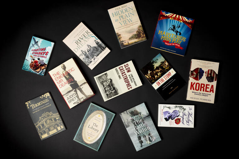 Covers of books shortlisted for the 2018 NSW Premier's History Awards