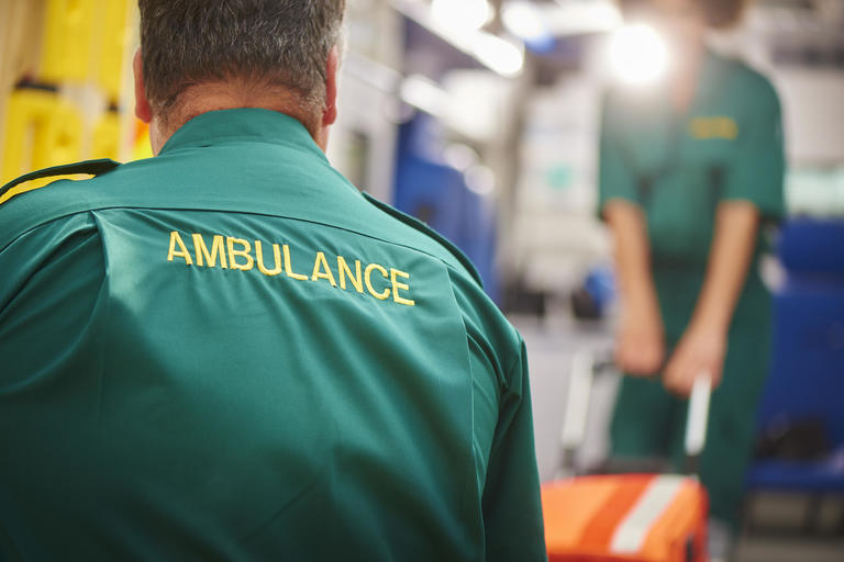 Ambulance workers