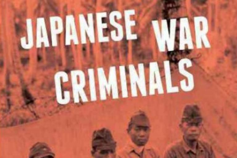 Japanese War Criminals cover