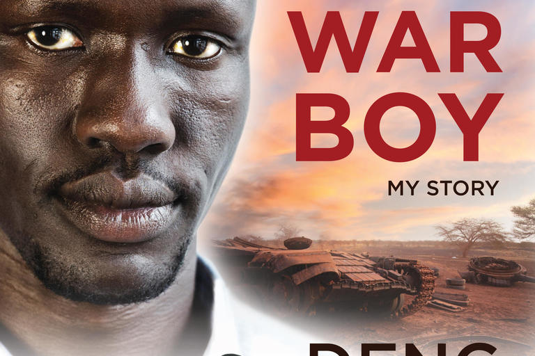 Front cover image of Songs of a War Boy
