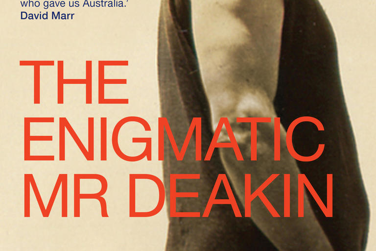 Front cover image of The Enigmatic Mr Deakin.