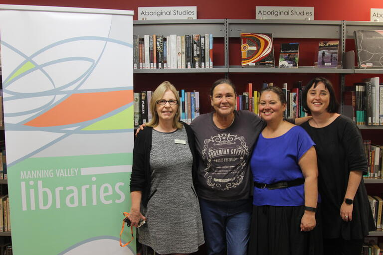 Indigenous Services team visit Manning Valley Library in Taree (NSW) for Aboriginal Family History workshops.