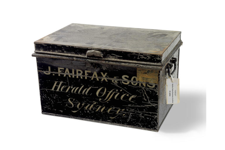 Box from the Fairfax archive