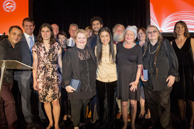 2016  NSW Premier's Literary Awards winners