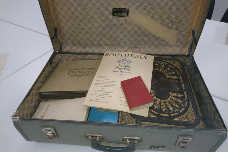Miles Franklin's long-lost diary in suitcase
