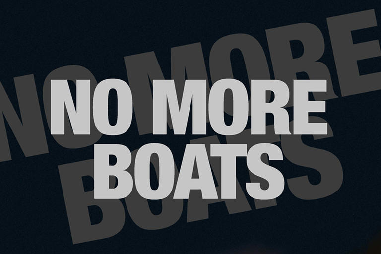 Cover image of No More Boats