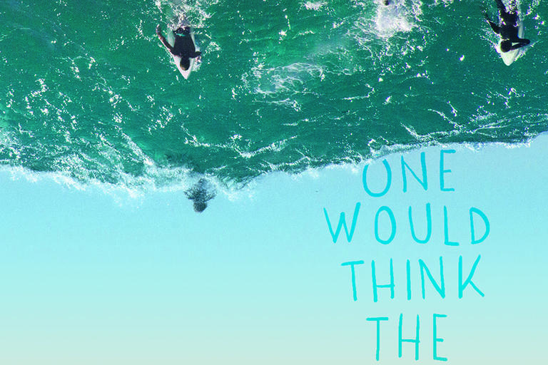 Book cover for One Would Think the Deep by Claire Zorn