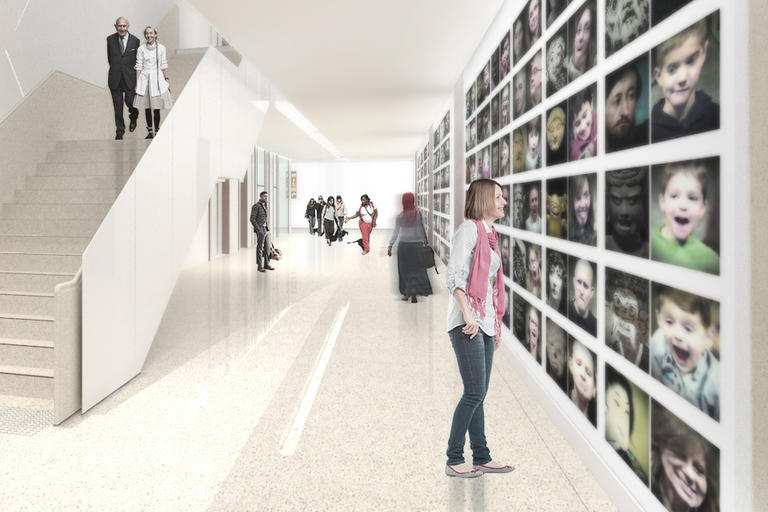 Artist impression of new Mitchell Galleries
