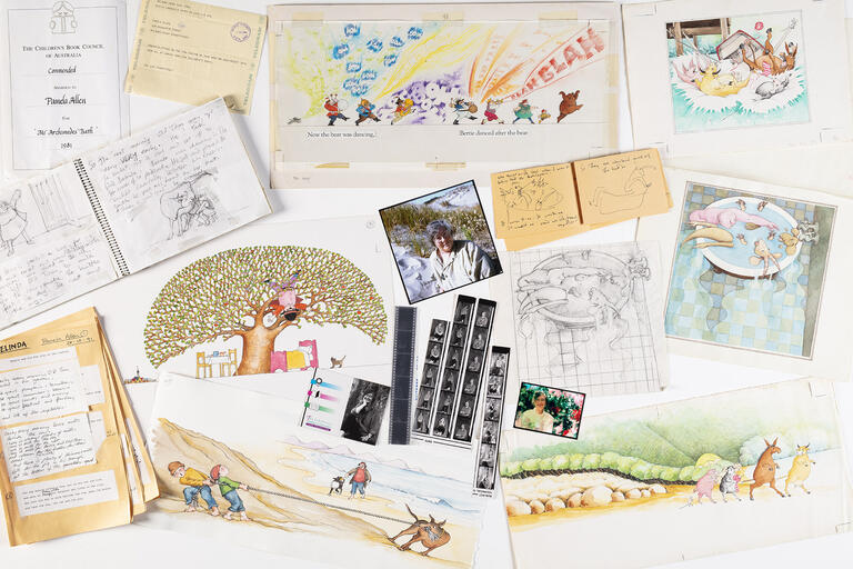 Selection of material from Pamela Allen archive