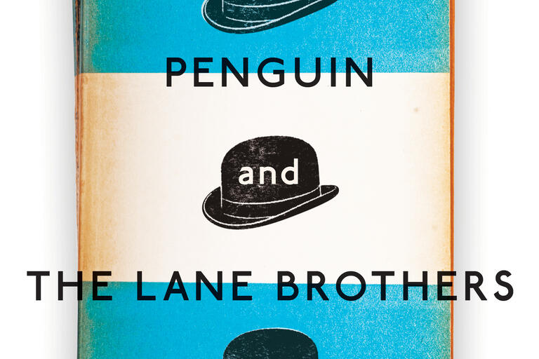 Book cover of Penguin and the Lane Brothers by Stuart Kells