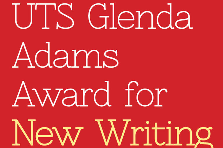 UTS Glenda Adams award button
