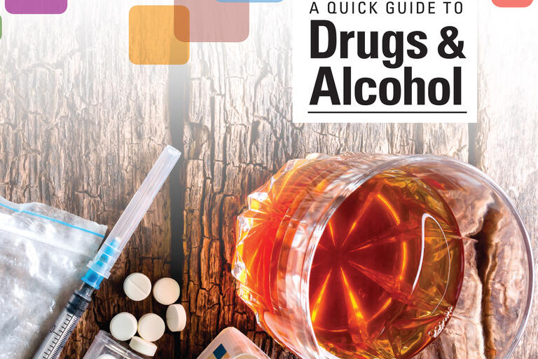 Cover of quick guide to drugs and alcohol book