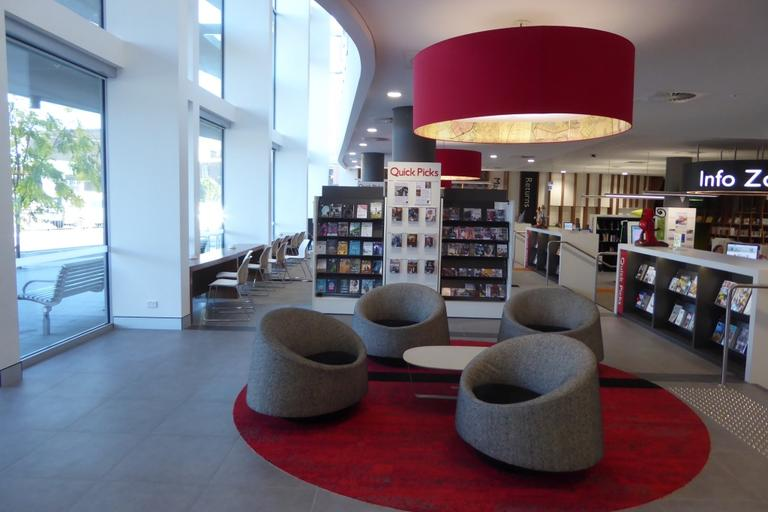 Seating at Rockdale Library