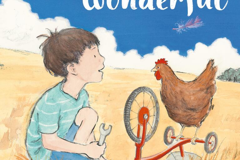 Book cover for Something Wonderful by Raewyn Caisley and Karen Blair