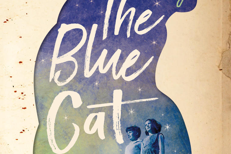 Cover image of The Blue Cat