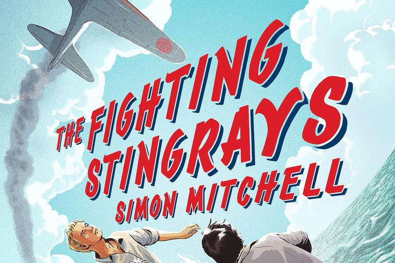 book cover image of the fighting stingrays