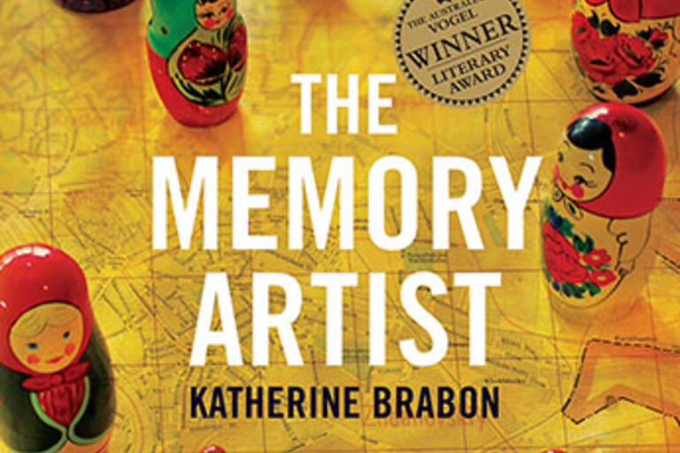 Book cover for The Memory Artist by Katherine Brabon