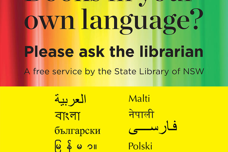 Books in your own language