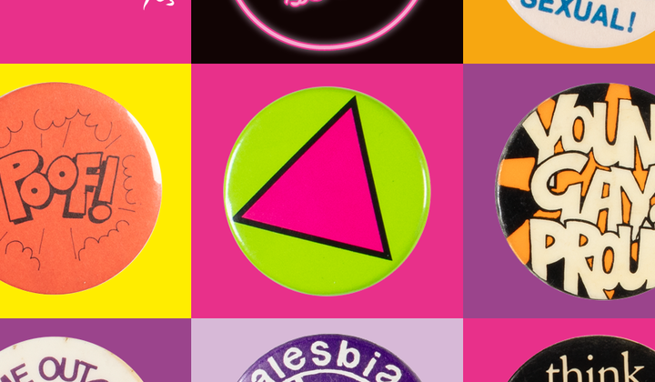 Salon series identity - badges