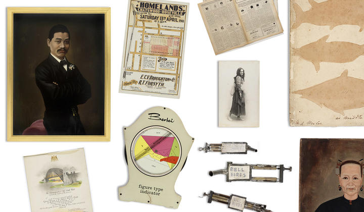 Collection of items from the State Library of NSW