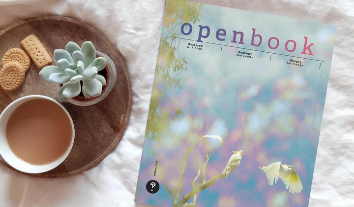 Openbook magazine spring issue