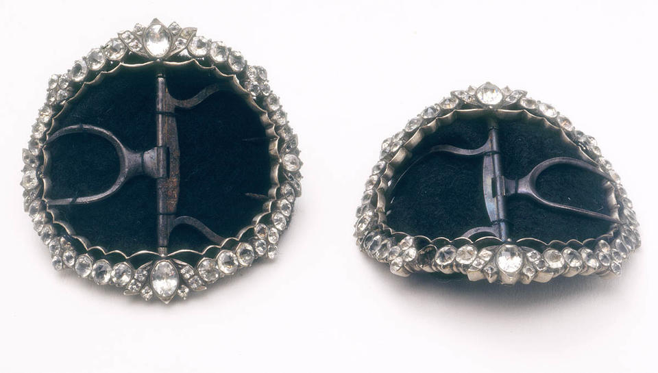 Captain Cook's shoebuckles