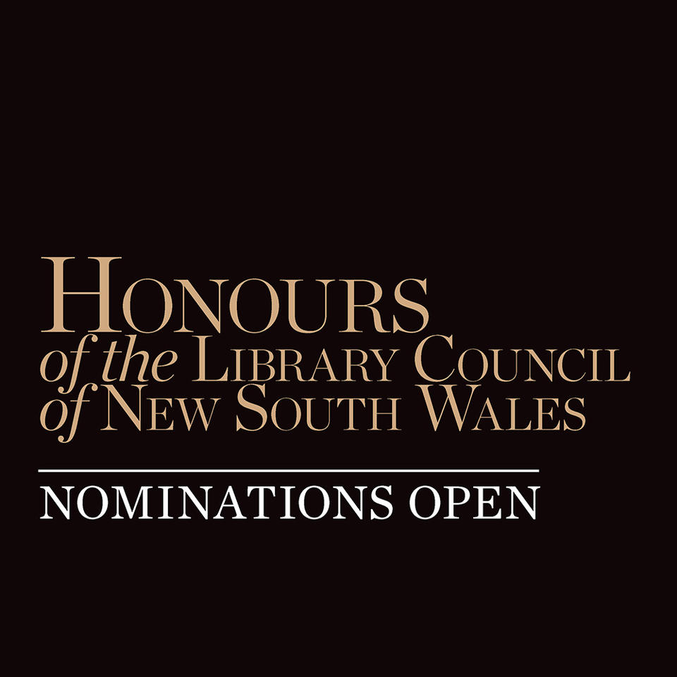 Honours of the Library Council of NSW - nominations open