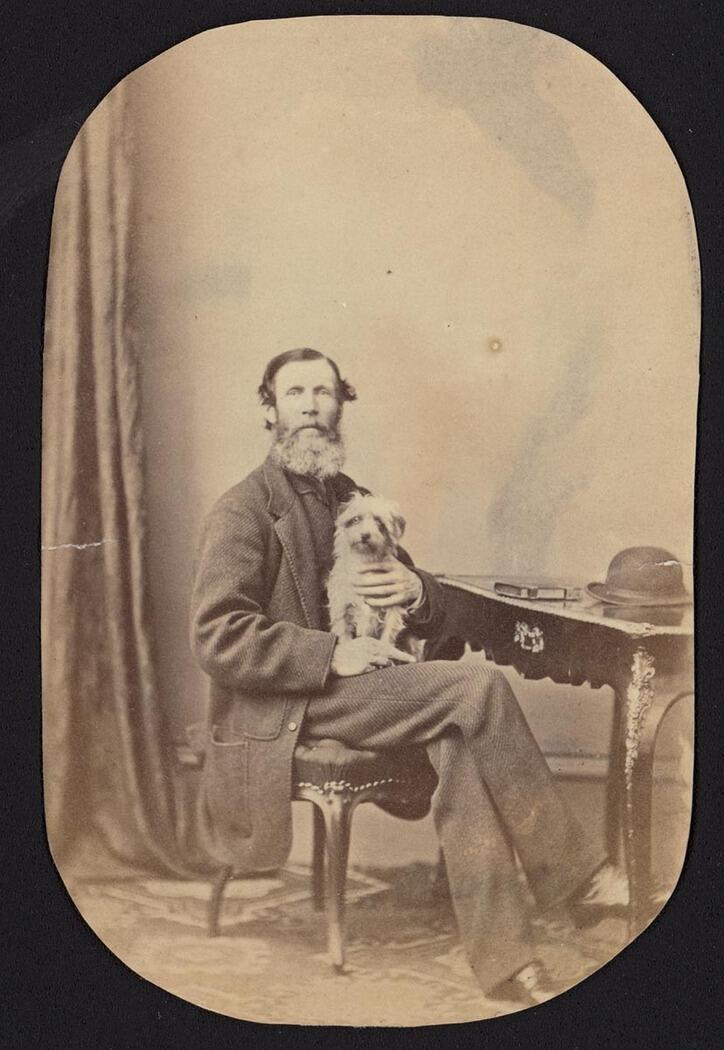 Photo of Emmeline Leslie - King, Leslie and Macarthur family portraits, 1840-1875