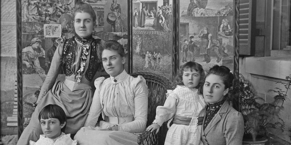 Photo of the Dangar family