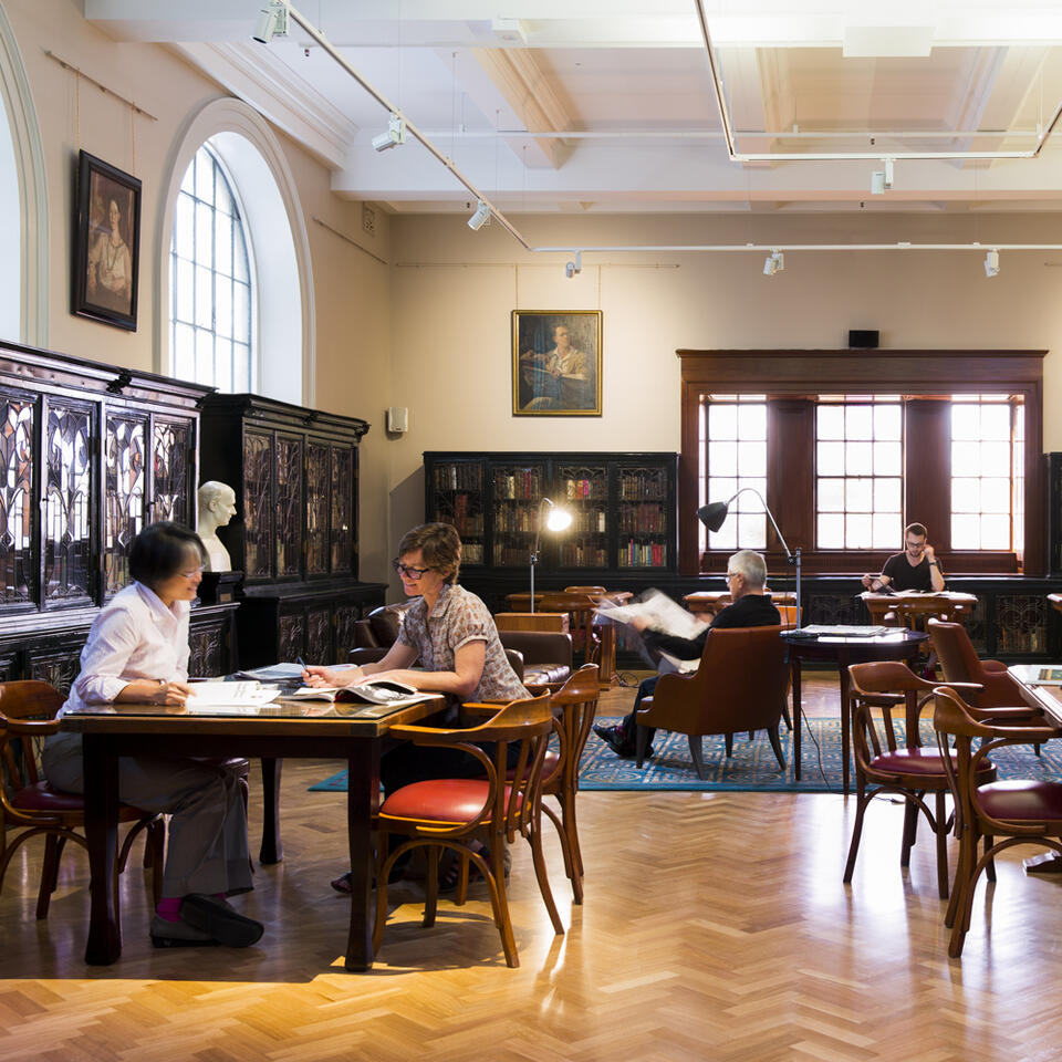 State library study area