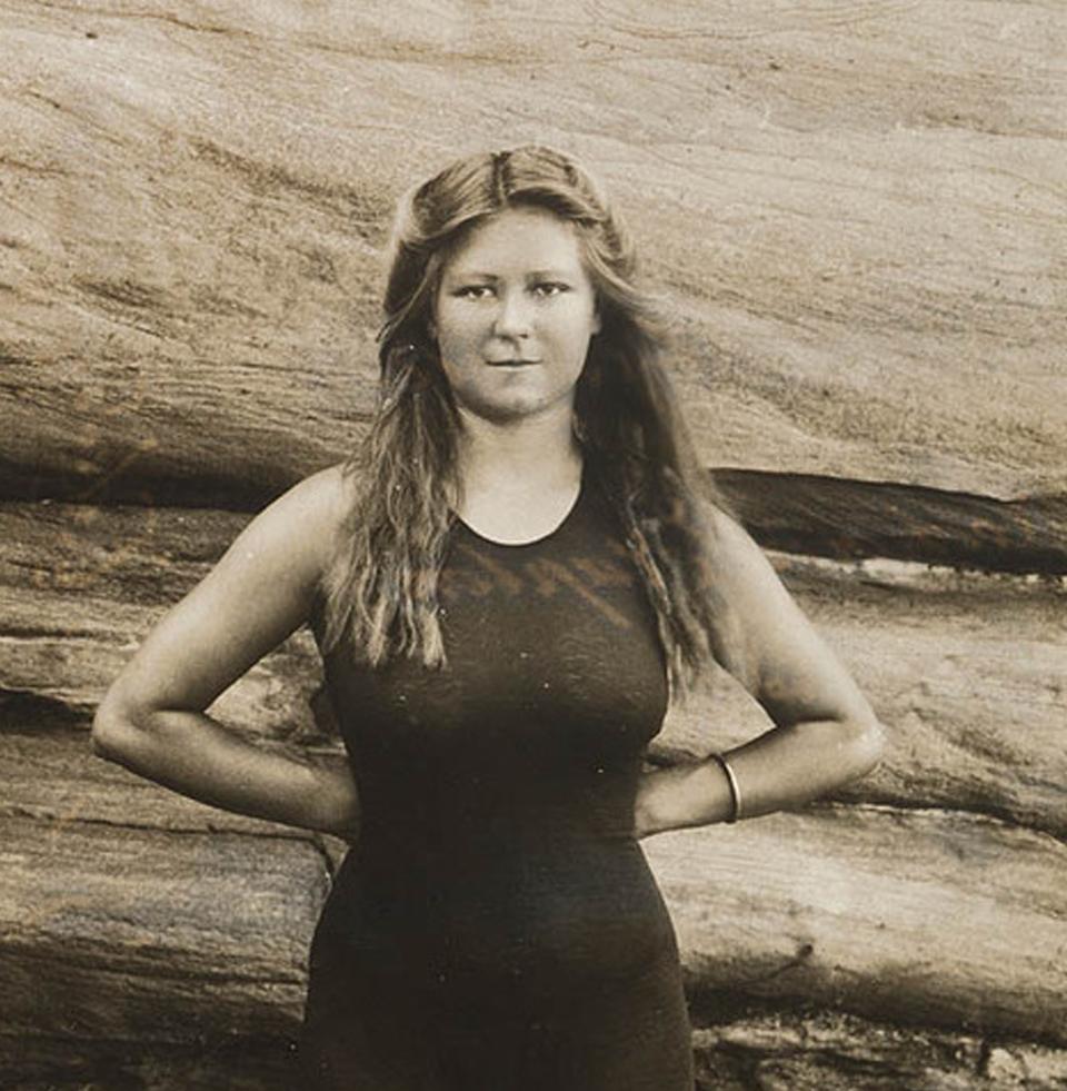 Mina Wylie, Coogee, 1913