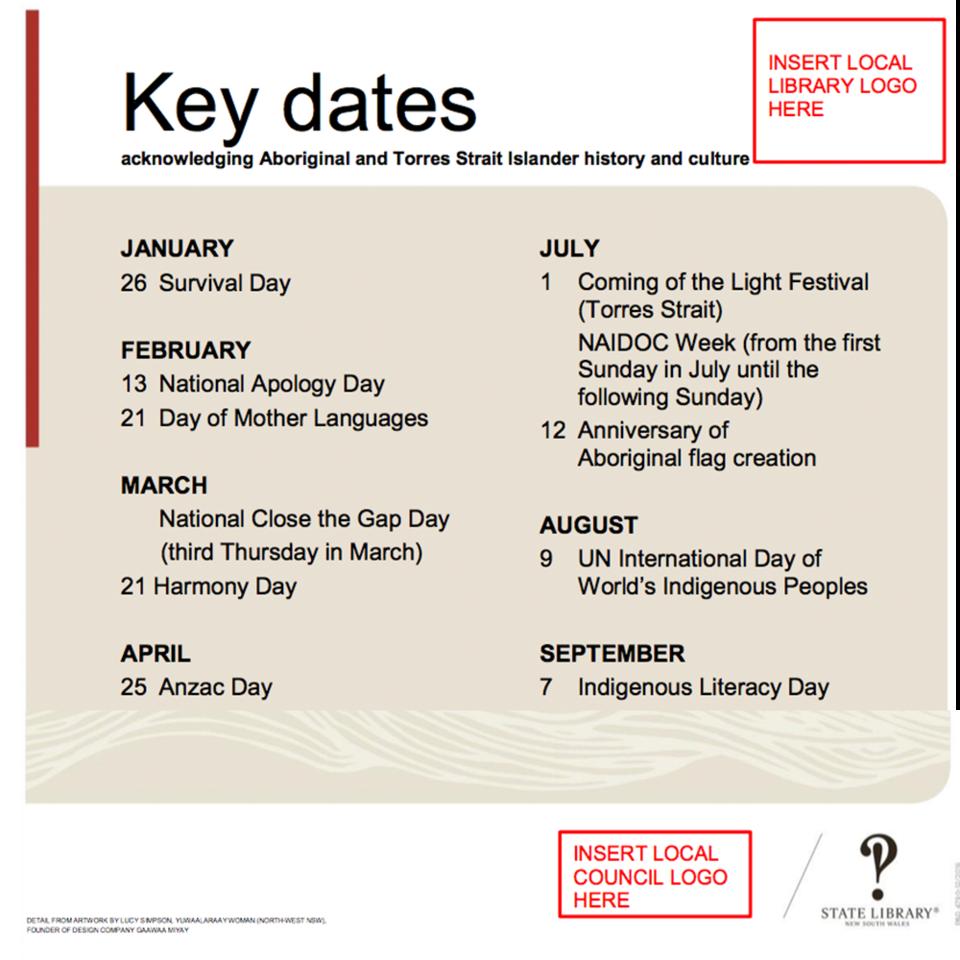 Indigenous Key Dates