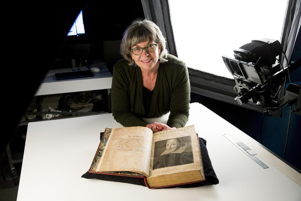 Shakespeare Folio Digitisation with Maggie Patton