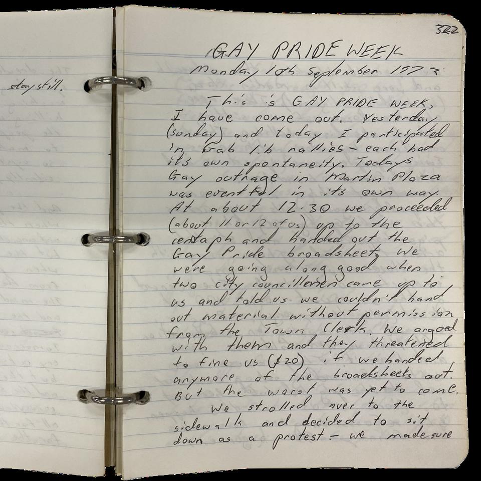 John Englart diary