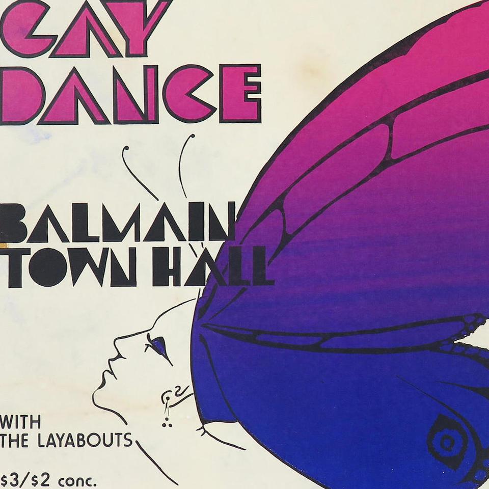 'Gay Dance' poster, Sydney, 1979 © Gay Film Fund
