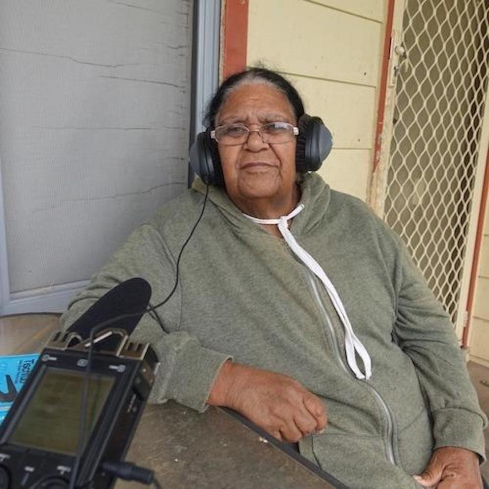 Photograph of Dawn Smith, 16 November 2017 / by Louise Darmody  5. Help make Aboriginal oral histories more accessible  We need your help to preserve important oral histories for future generations. Join the dedicated community on our Amplify website and