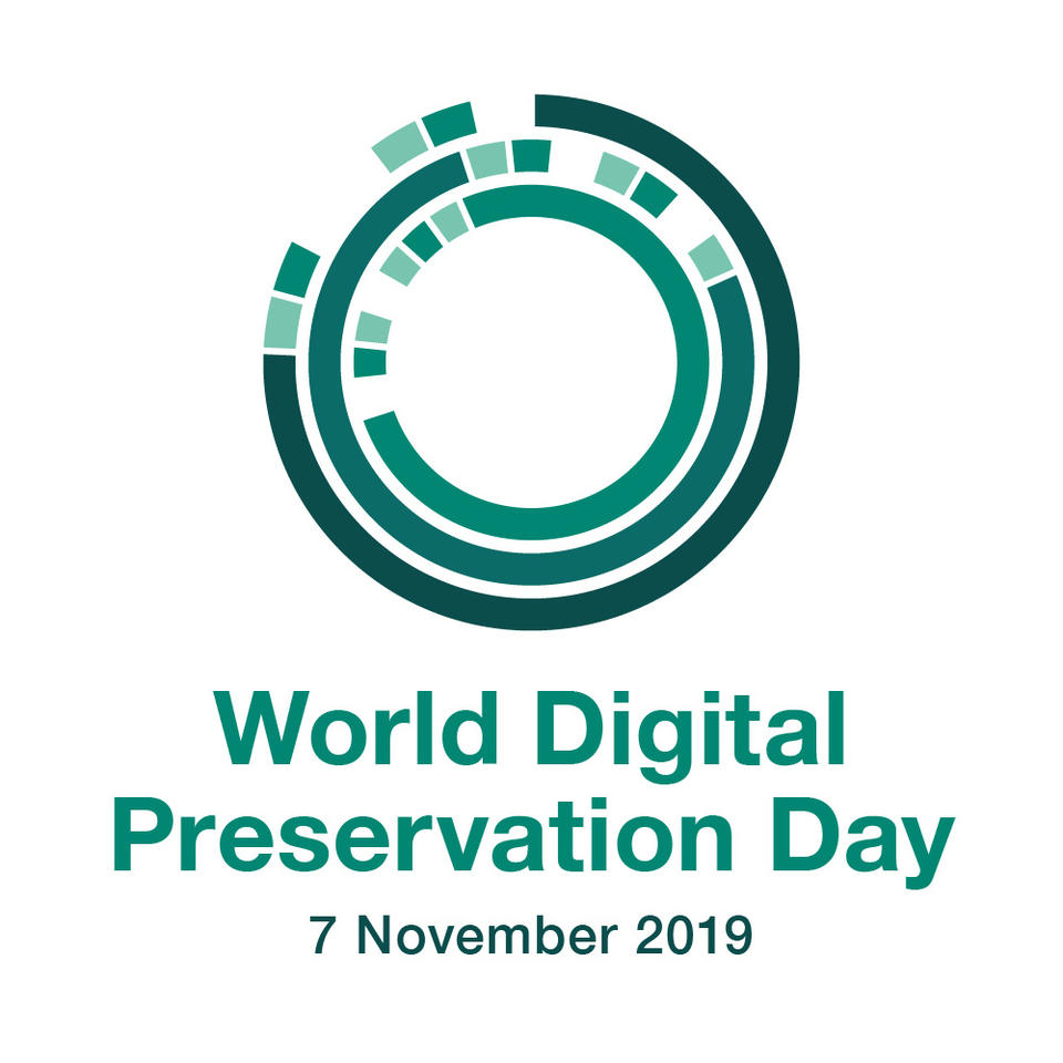 World Digital Preservation Day 2019 logo