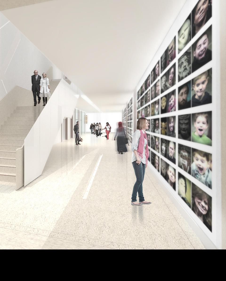 Artist impression of new Mitchell Galleries