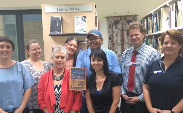 Indigenous Services visit at Singleton Public Library.