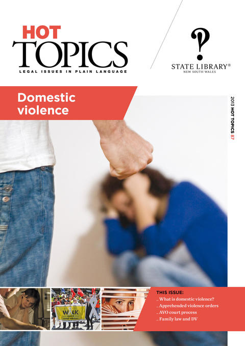 Cover image of Hot Topics Domestics Violene