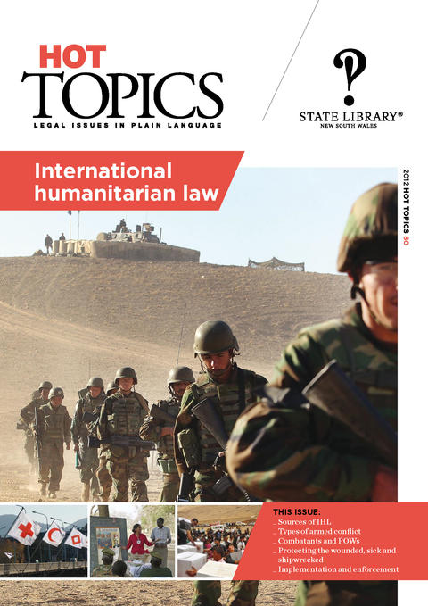 Cover for Hot Topics International Humanitarian Law