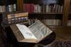 Shakespeare Folios open